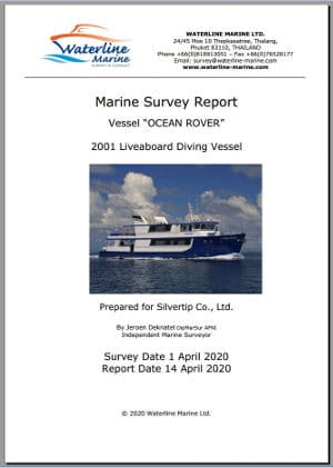 boat survey report thailand