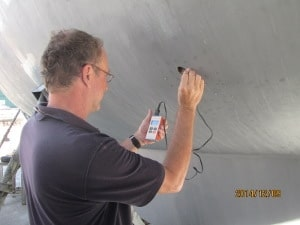 Exterior hull deck inspections